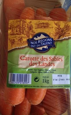 Carottes des Sables des Landes - Product