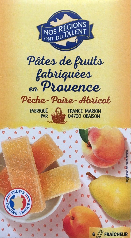 Pâtes de Fruits Jaunes - Produit - fr