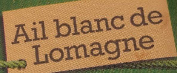 Ail blanc de Lomagne - Ingredienti - fr