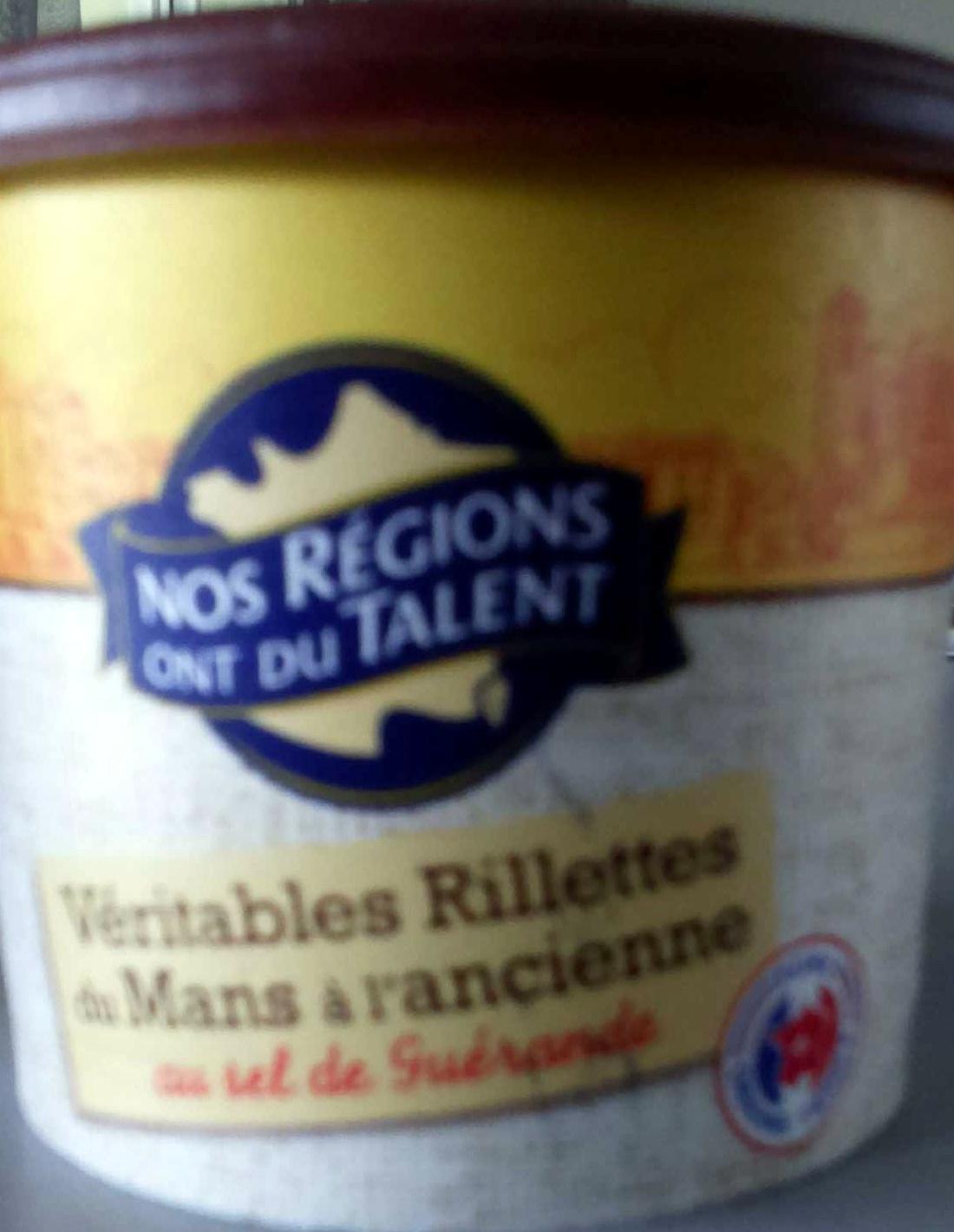 Véritables rillettes du Mans à l'ancienne au sel de Guérande - Produit - fr