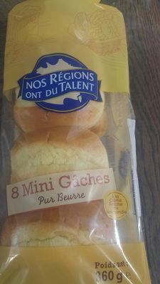 8 mini gâches pur beurre à la crême fraîche - Produit - fr