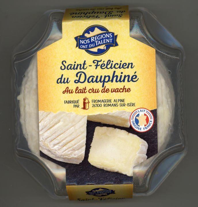 Saint-Félicien du Dauphiné au lait cru de vache - Produit - fr