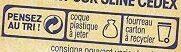 Saint-Félicien du Dauphiné au lait cru de vache - Instruction de recyclage et/ou informations d'emballage - fr