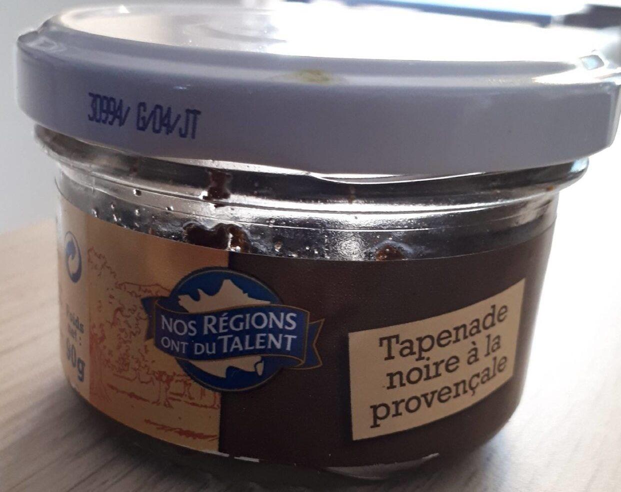 Tapenade noire à la provençale - Produit