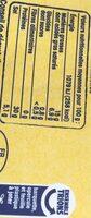 Jambon de Bayonne - 4 grandes tranches - Informations nutritionnelles - fr