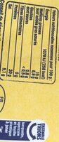 Jambon de Bayonne - 4 grandes tranches - Nutrition facts - fr