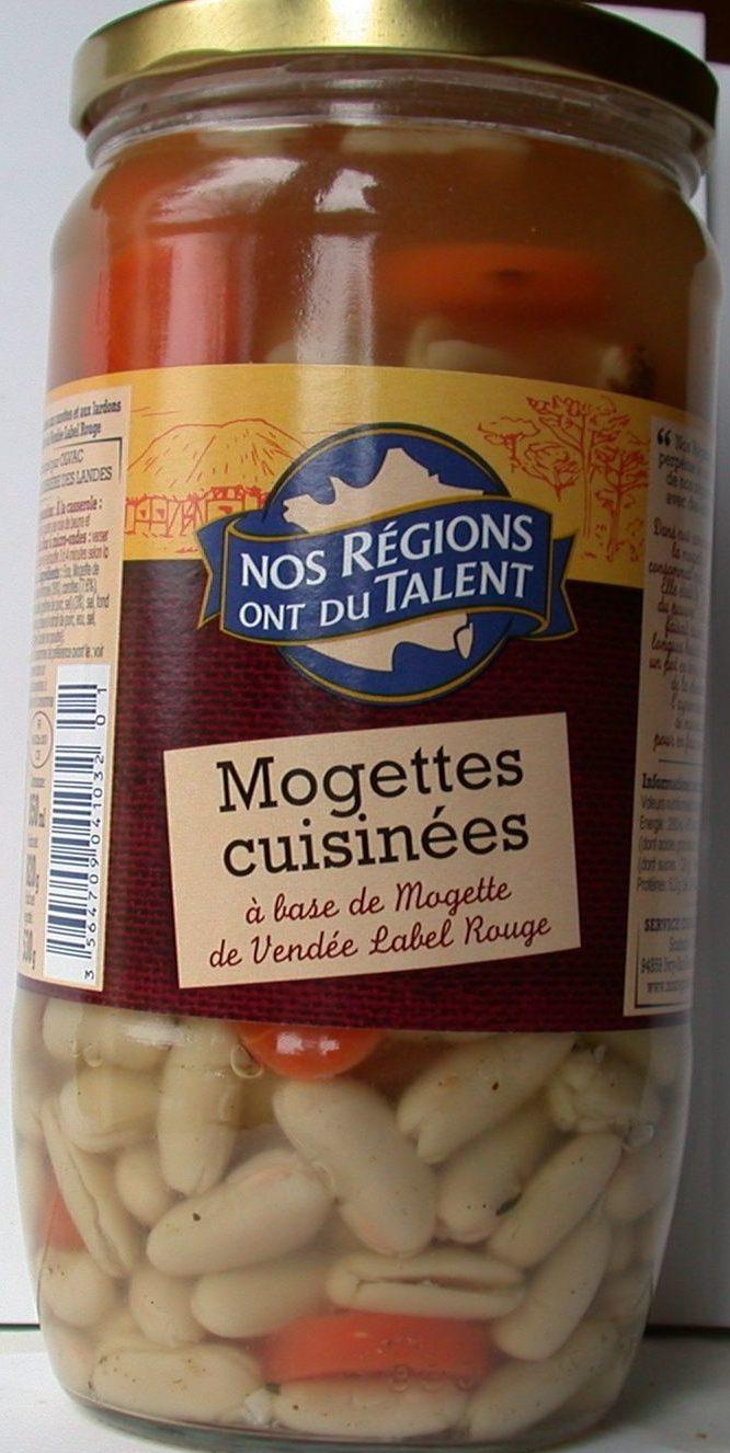 Mogettes cuisinées à base de Mogette de Vendée Label Rouge - Prodotto - fr
