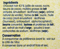 Crêpes dentelle de Bretagne - Ingredients - fr