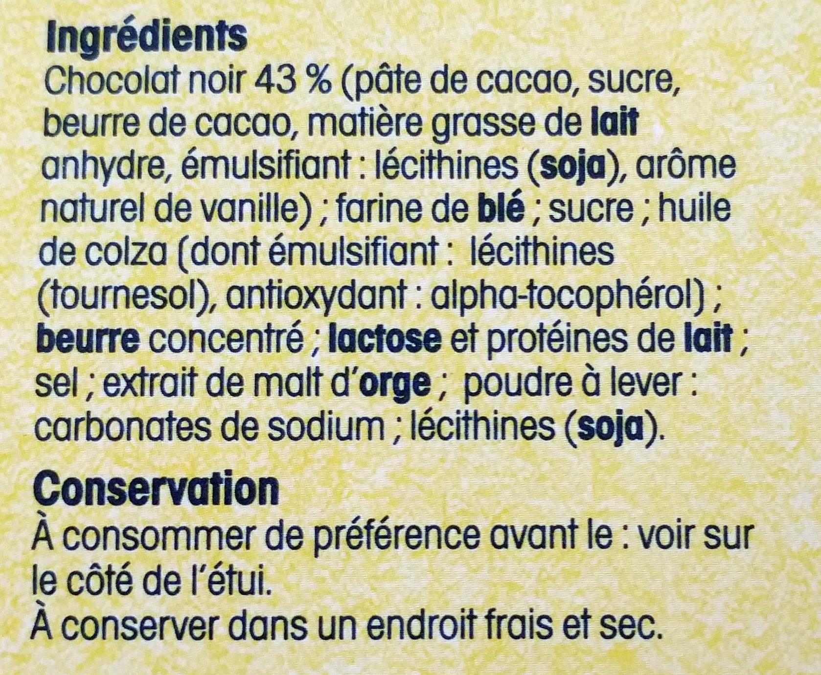 Crêpes dentelle de Bretagne - Ingrédients - fr
