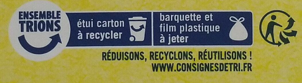 Crêpes dentelle de Bretagne - Recycling instructions and/or packaging information - fr