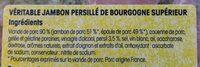 Jambon persille de bourgogne - Ingredients - fr