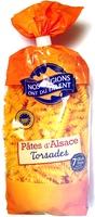 Pâtes d'Alsace Torsades (7 Œufs Frais par kilo de semoule) - Product - fr
