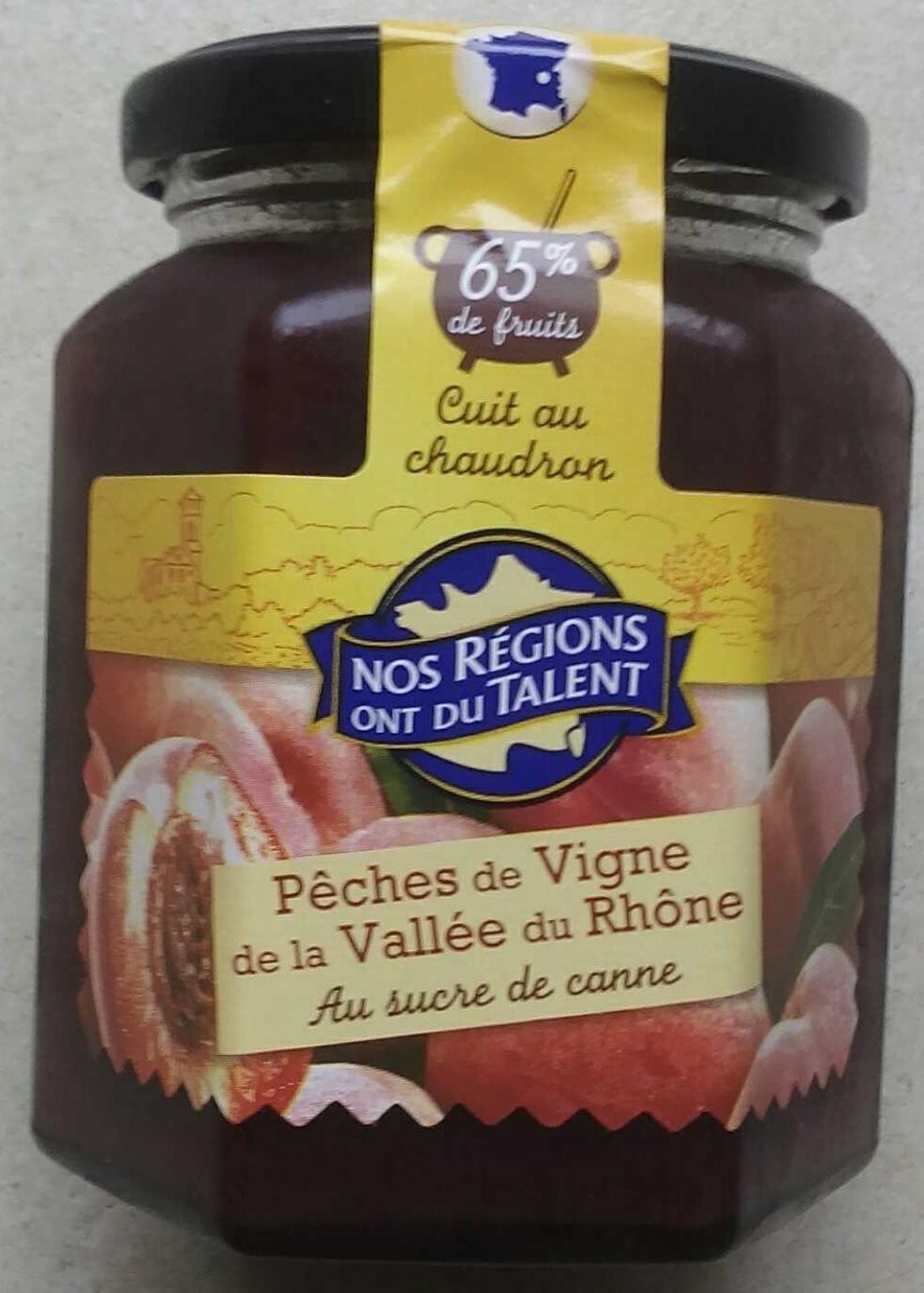 Pêches de Vigne de la Vallée du Rhône - Product - fr