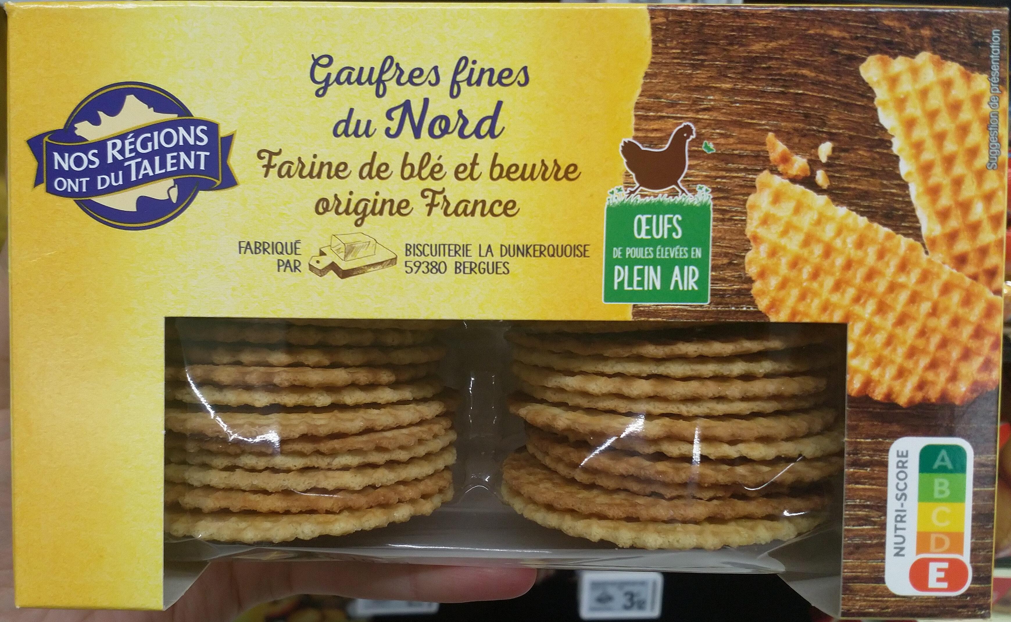 Gaufres fines du Nord pur beurre - Product - fr