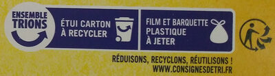 Gaufres fines du Nord pur beurre - Recycling instructions and/or packaging information - fr