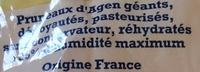 Pruneaux d'Agen dénoyautés - Ingrédients - fr