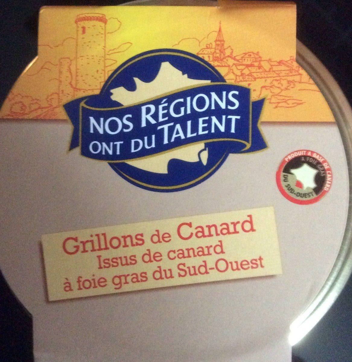 Grillons De Canard Du Sud-ouest - Produit - fr