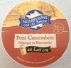 Petit Camembert au Lait Cru (22 % MG) - Produit