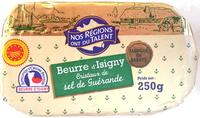 Beurre d'Isigny - Cristaux de sel de Guérande - Product - fr