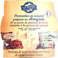 Parmentier de canard préparé en Aveyron - Prodotto - fr