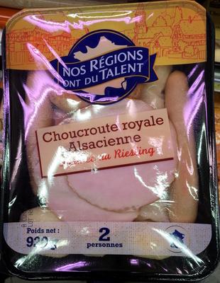 Choucroute royale Alsacienne - Produit - fr