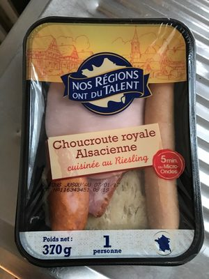 Choucroute royale alsacienne - Product