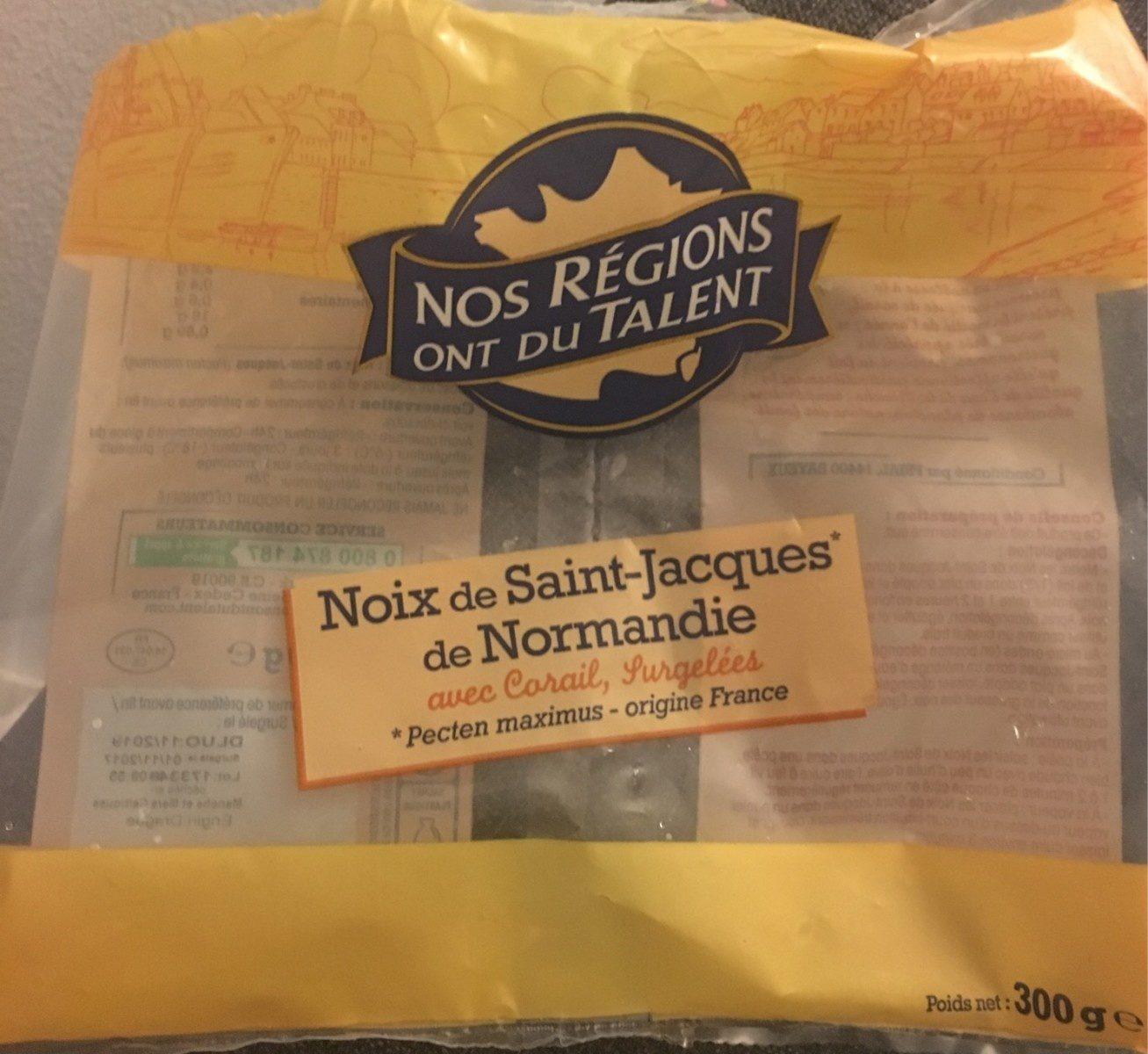 Noix de Saint-Jacques de Normandie - Produit - fr