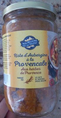 Riste d'aubergine à la Provençale - Product - fr