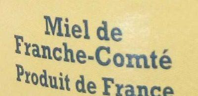 Miel de France-Comté - Ingrédients - fr