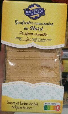 Gaufrette amusante du Nord parfum vanille - Product - fr