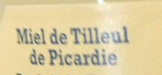 Miel de Tilleul de Picardie - Ingrédients