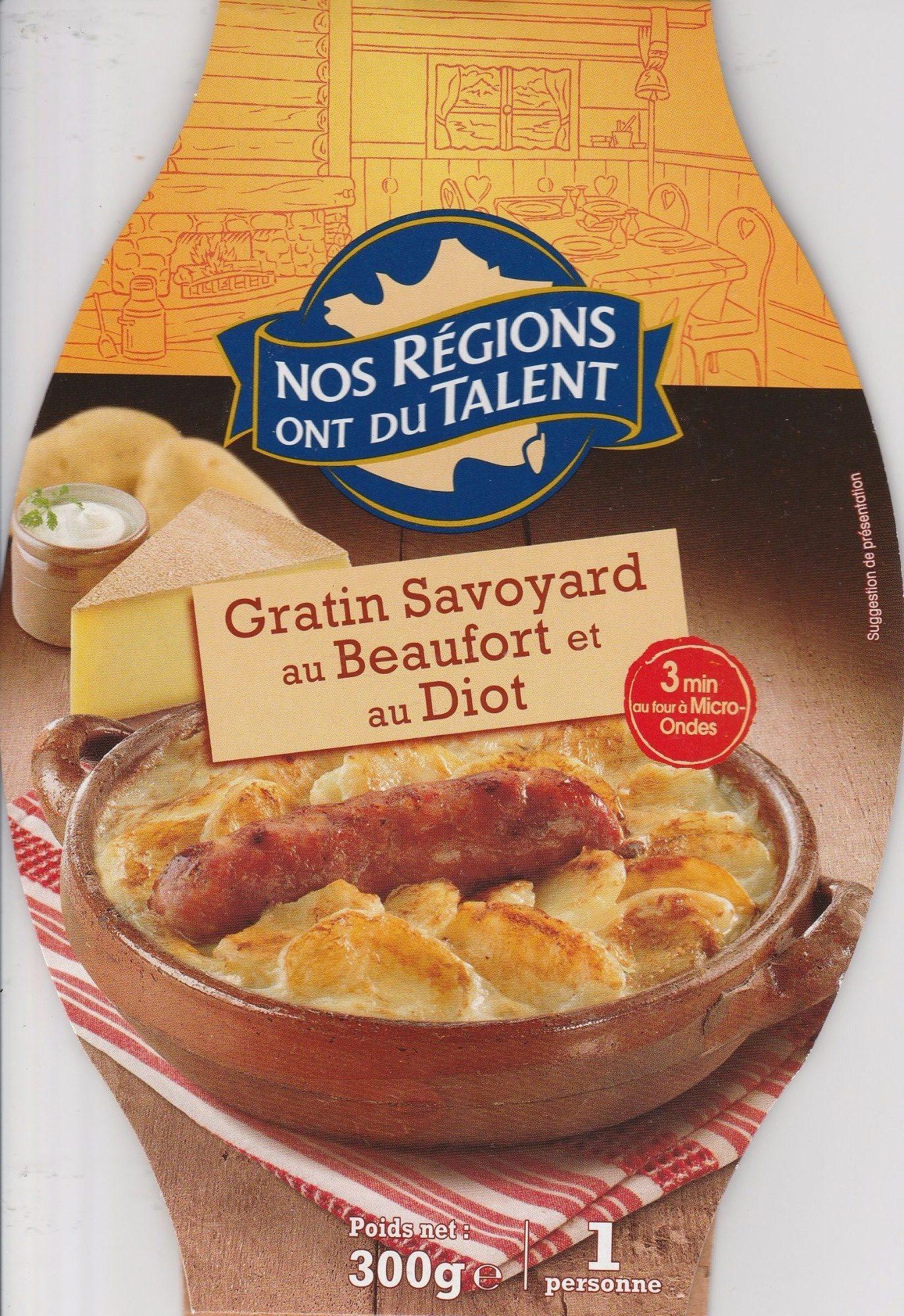 Gratin Savoyard au Beaufort et au Diot - Produit - fr