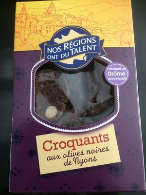 Croquants olives nyons NRDT - Produit
