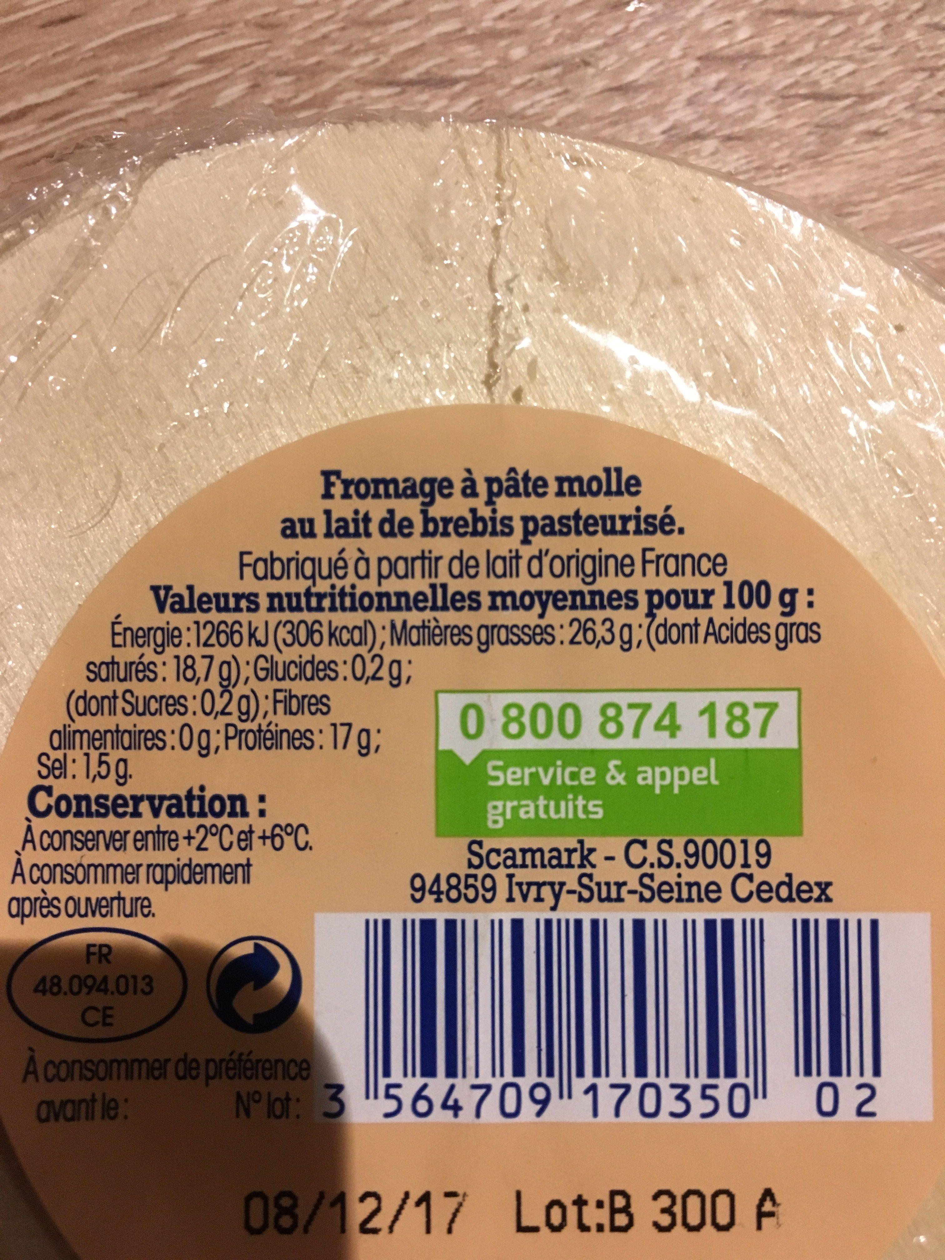 Fromage perail lait de brebis nos r gions ont du talent 150 g - Quantite de fromage par personne ...