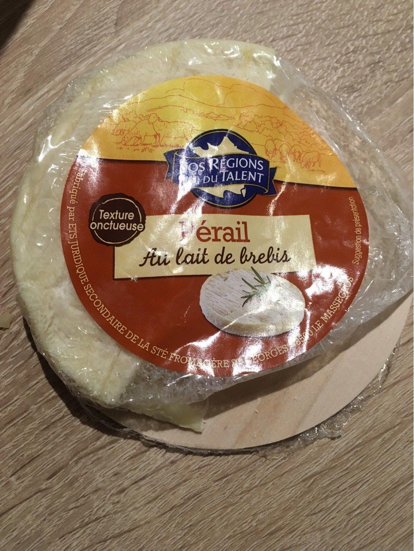 Fromage perail lait de brebis Nos Régions Ont Du Talent - Nutrition facts