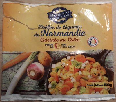 Poêlée de légumes de Normandie Cuisinée au Cidre - Produit - fr