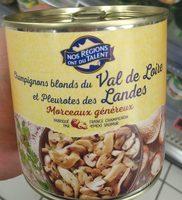 Champignons Blonds du Val de Loire & Pleurotes des Landes - Produit - fr