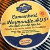 Camembert de normandie AOP au lait cru de vache - - Product