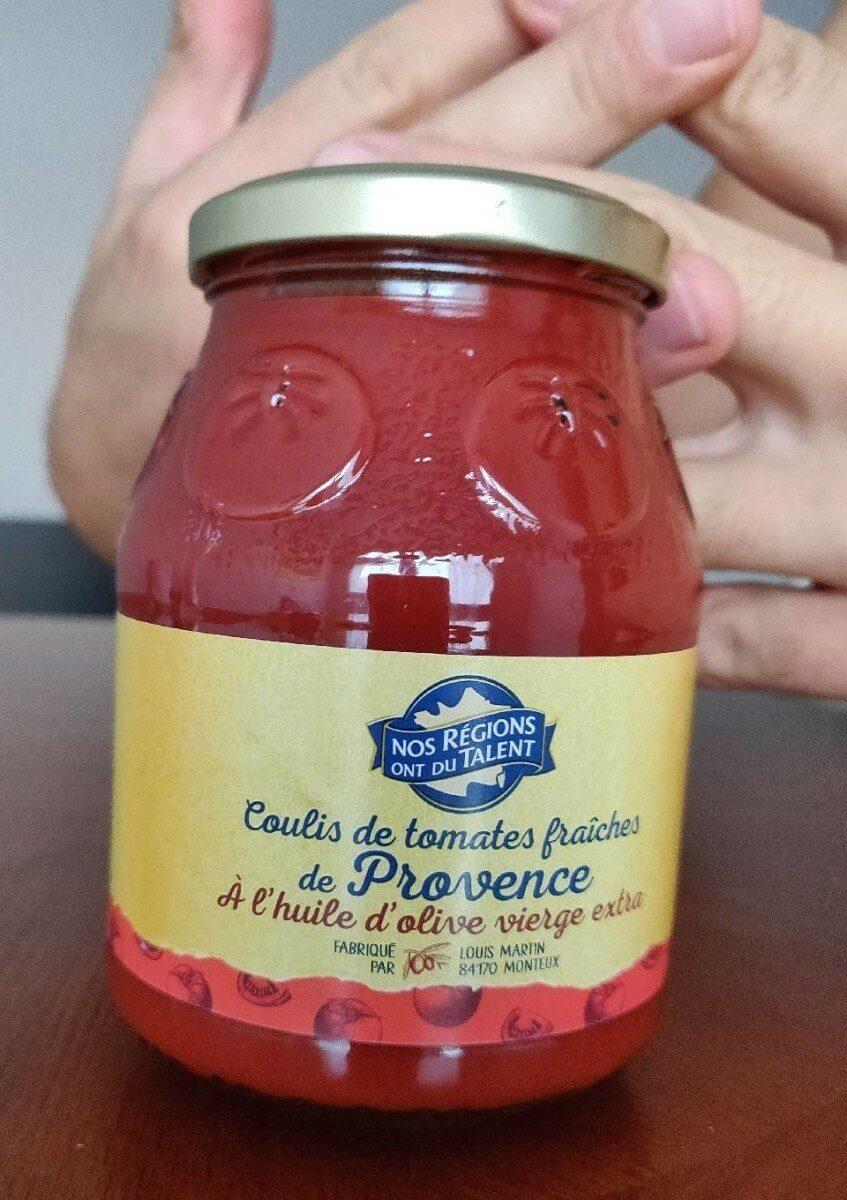 Coulis de tomates fraîches de Provence - Prodotto - fr