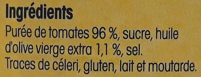 Coulis de tomates fraîches de Provence - Ingredienti - fr