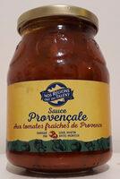 Sauce Provençale aux tomates fraîches de Provence - Product - fr