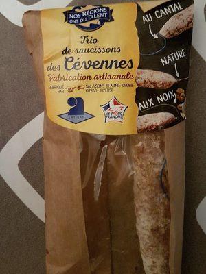 Trio de saucissons des Cevennes - Product