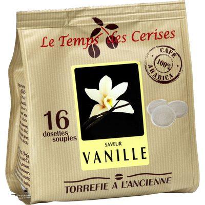 Cafe moulu saveur vanille en dosettes - Product - fr
