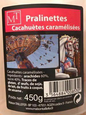 Pralinettes - Cacahuetes Caramelisées - Product - fr