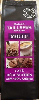 Café Dégustation Moulu 100% Arabica - Producto