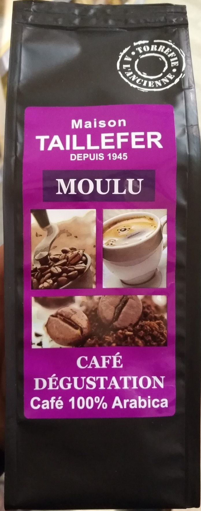 Café Dégustation Moulu 100% Arabica - Product