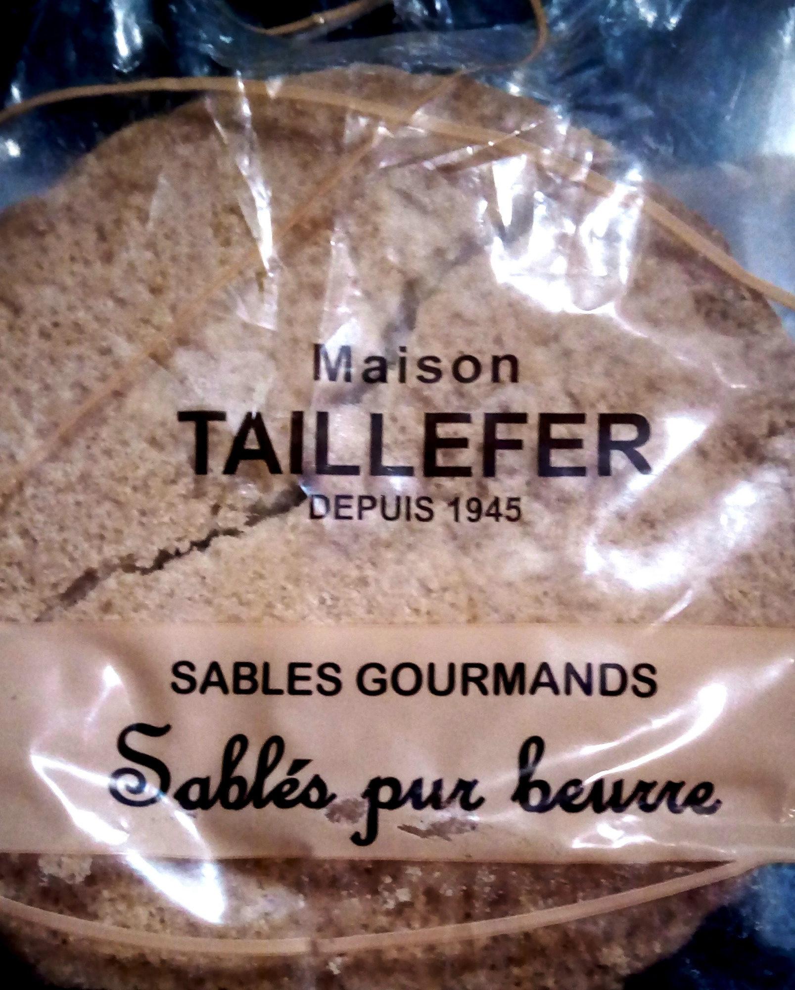 Sablés Gourmands - Produit - fr