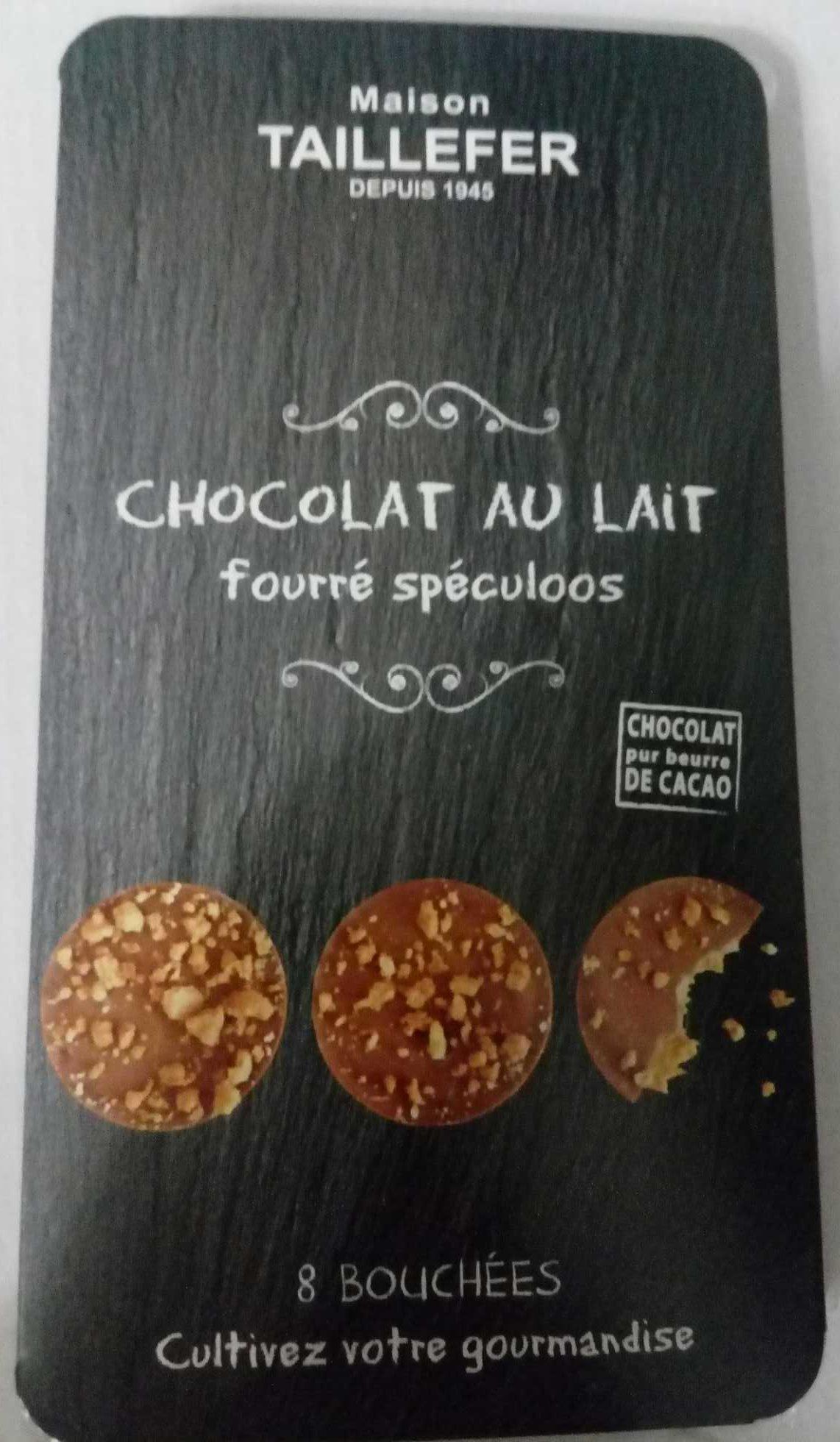 chocolat au lait fourr sp culoos maison taillefer 75 g e. Black Bedroom Furniture Sets. Home Design Ideas
