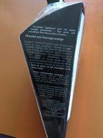 Maison Taillefer Chocolat Noir Orange Cornet 150G - Ingredients