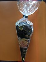 Maison Taillefer Chocolat Noir Orange Cornet 150G - Nutrition facts